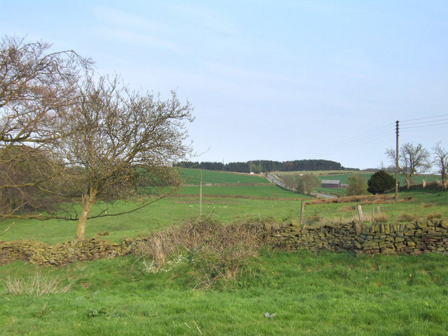 Countryside near Matlock.