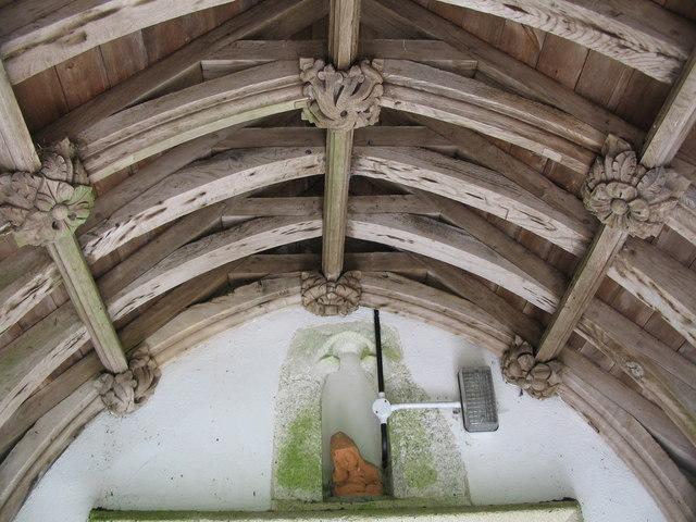 Roof carvings
