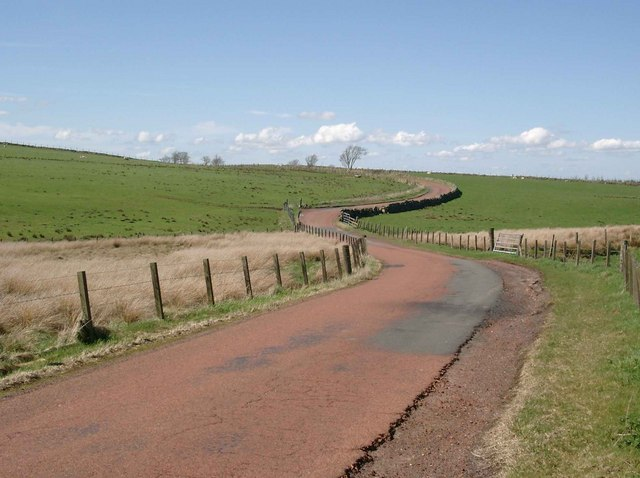Lanarkshire's red roads
