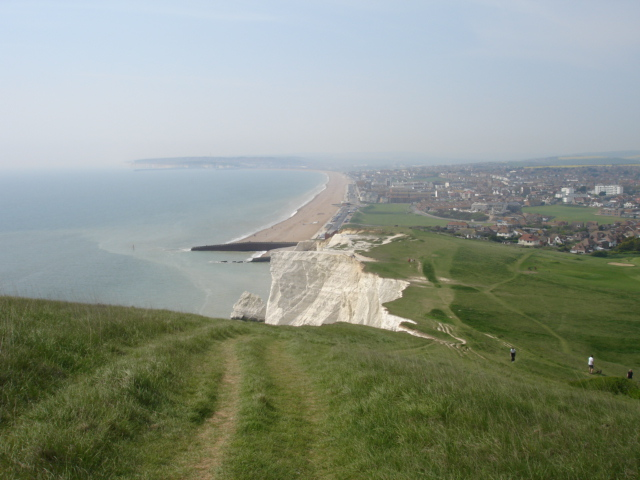 Seaford Cliff & Beach East Sussex