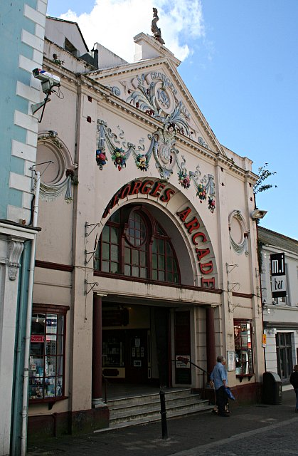 St George's Arcade, Falmouth