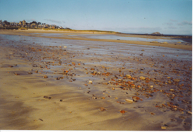 North Berwick Bay.