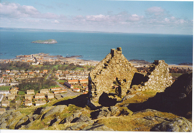 Ruined House on top of North Berwick Law.