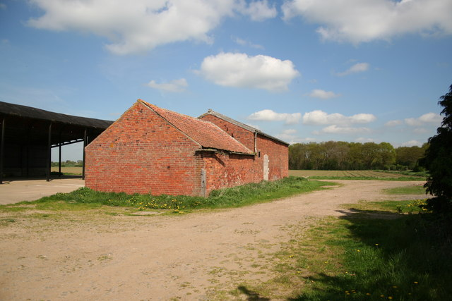 Farm buildings & Platt's Plantation