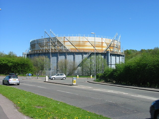 Gas Holder, Adderley Green