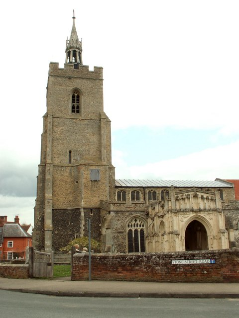 St. Mary's church, Boxford, Suffolk