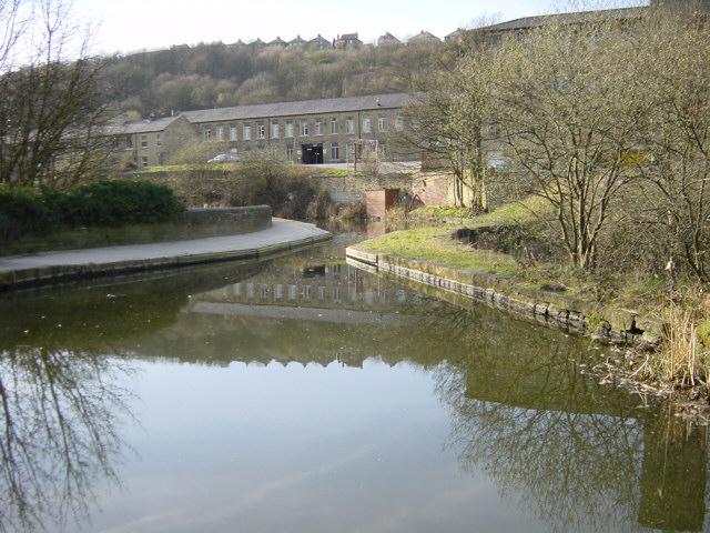 Golcar Aqueduct, Huddersfield Canal