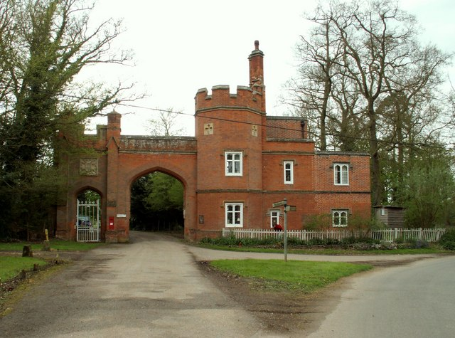 Gatehouse to Edwardstone Hall, Suffolk