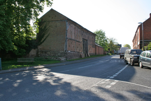 Old barn on Croft Road, Cosby