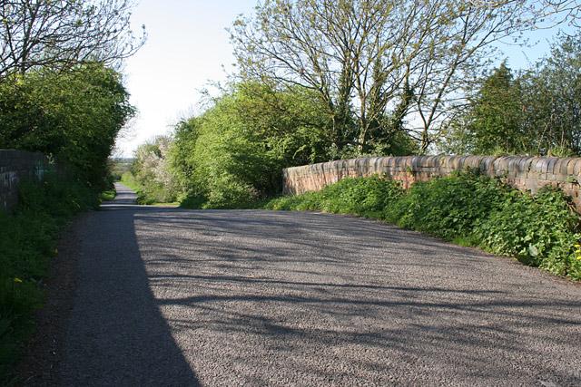 Shuttleworth Lane near Cosby