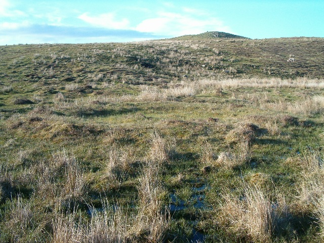 Hut circles at Borichill Mor
