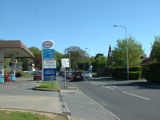 Supply stop, Church Crookham