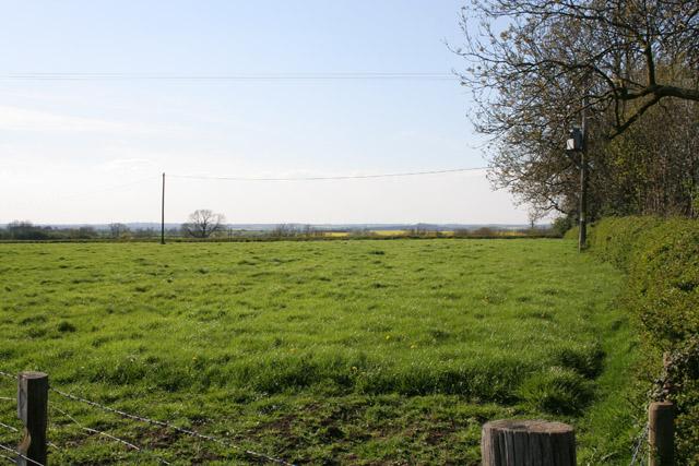 Farmland on Shuttleworth Lane near Cosby