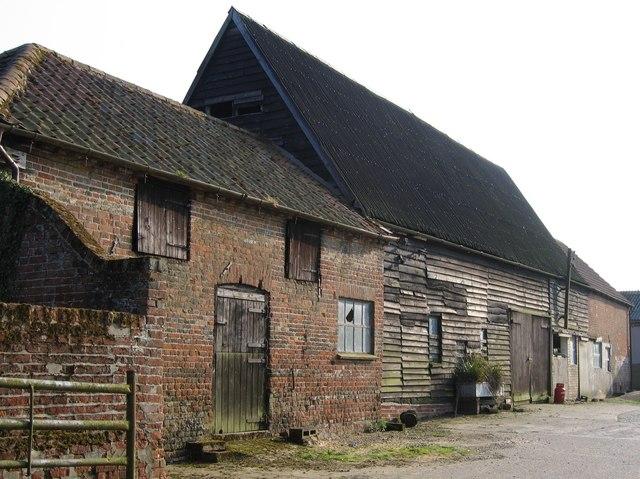 Barns at Oldhouse Farm, Brooke