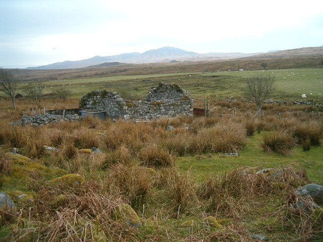 Ruin at Ardmenish
