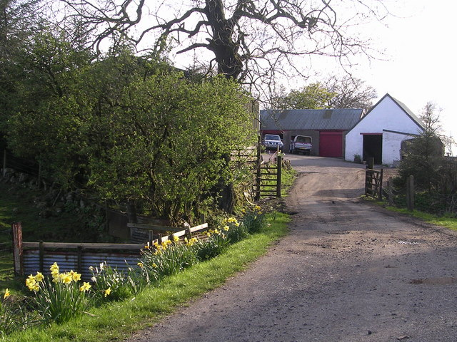 Glenhead Farm, above Banton