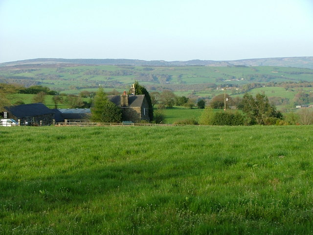 Three Nooks Farm from Top Road