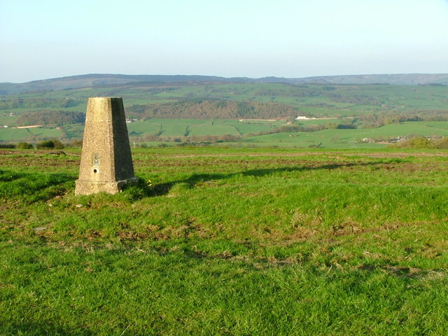 Trig Point overlooking Horton Valley