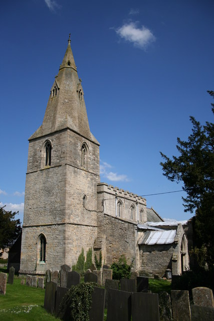 St.James' church, Skillington, Lincs.