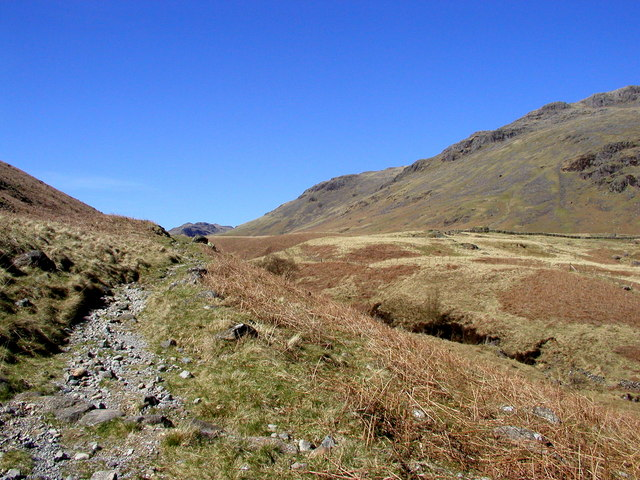 Looking up Mosedale.