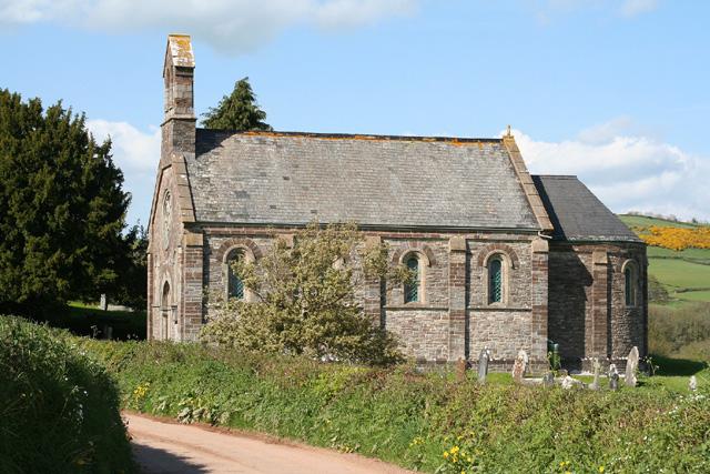 Bampton: church at Petton