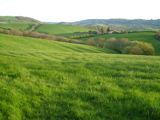 Lowley from lane to Easternhill Farm
