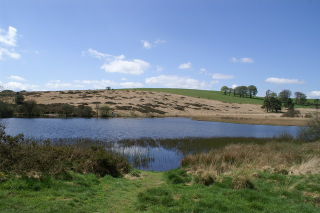 Waldegrave Pool on the Mendips
