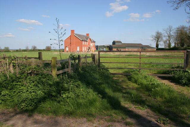 Farm on Bambury Lane near Countesthorpe