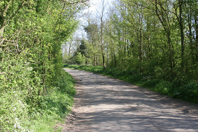 Hill Lane near Countesthorpe