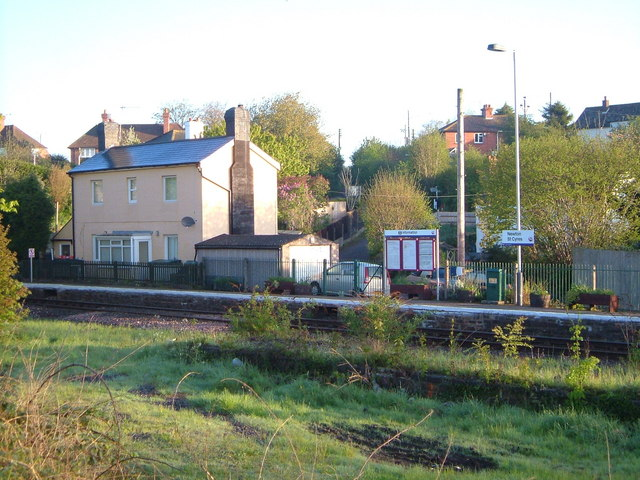 Newton St Cyres station