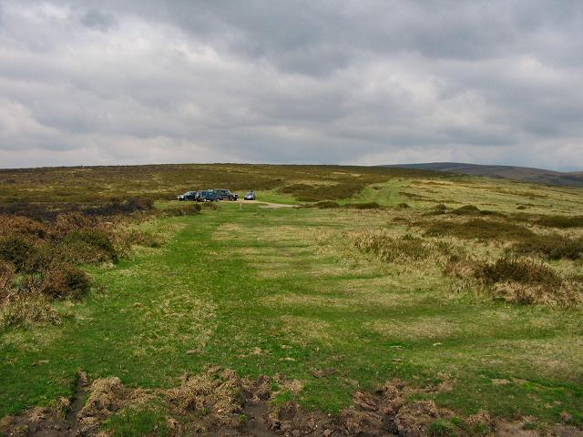 Car park on Dunstone Down, Dartmoor