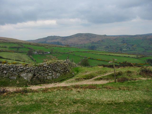Combe - NW of Widecombe, Dartmoor