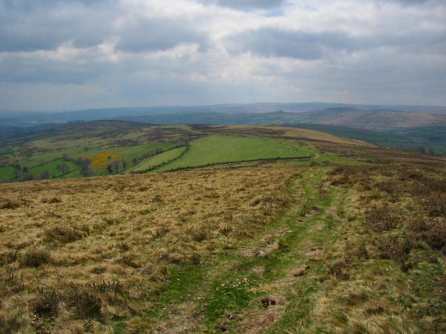 The southern part of Hameldown, Dartmoor