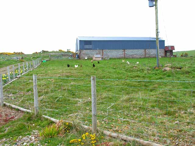 Barn on Craigoch Moor