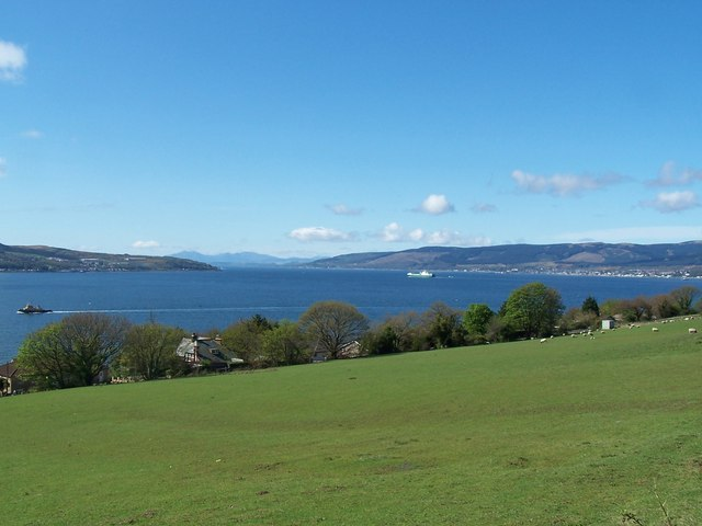 Kilcreggan,View from Barbour Road