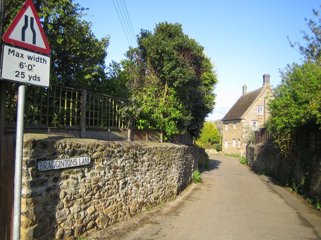 Middleton Cheney: Braggintons Lane