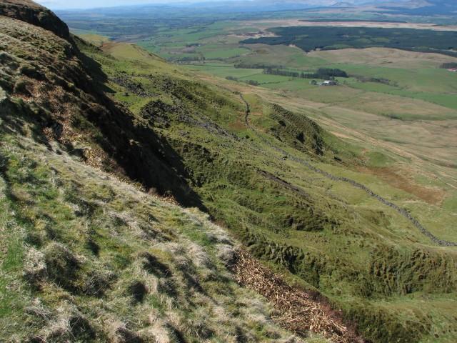Below the crags
