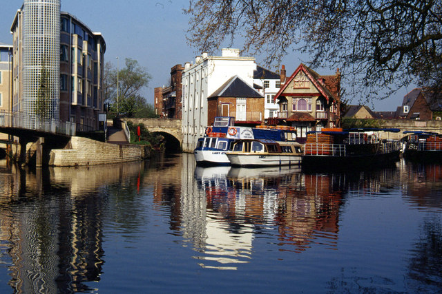 River Isis (Thames), Oxford