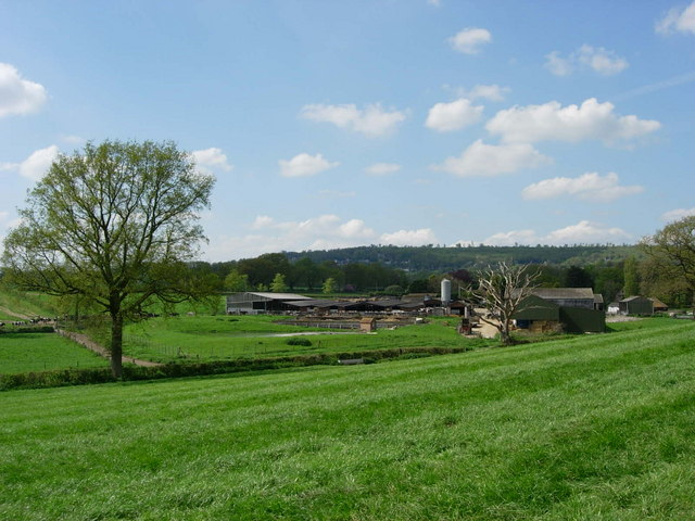 Henden Farm - Looking towards Toy's Hill