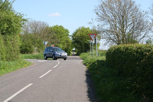 Hill Lane near Countesthorpe, Leicestershire