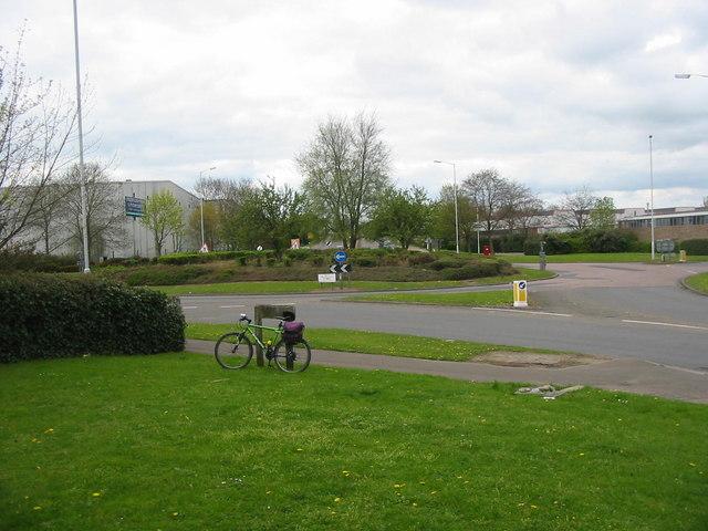 Industrial Estate near Orton Longueville