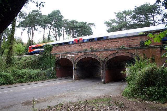 Railway Bridge near Meyrick Park