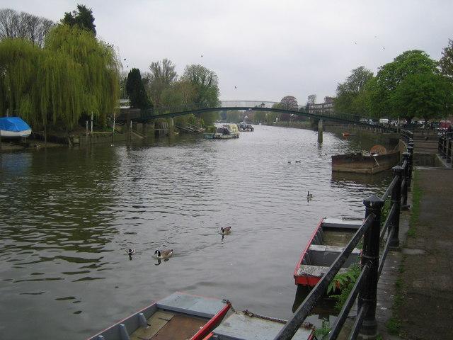 River Thames: Eel Pie Island