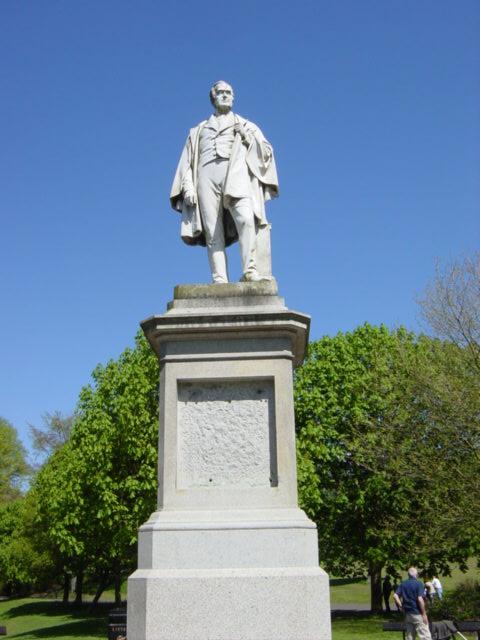 William Rathbone's Statue, Sefton Park
