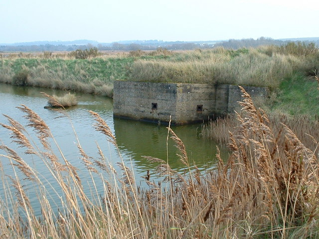 Coastal defence at Titchwell, Norfolk.