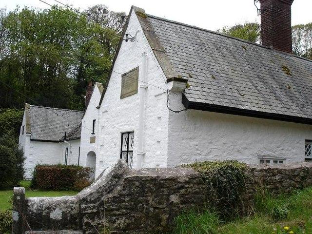 Llanrhaeadr alms houses