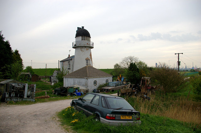 Old Lighthouse on Killingholme Marshes