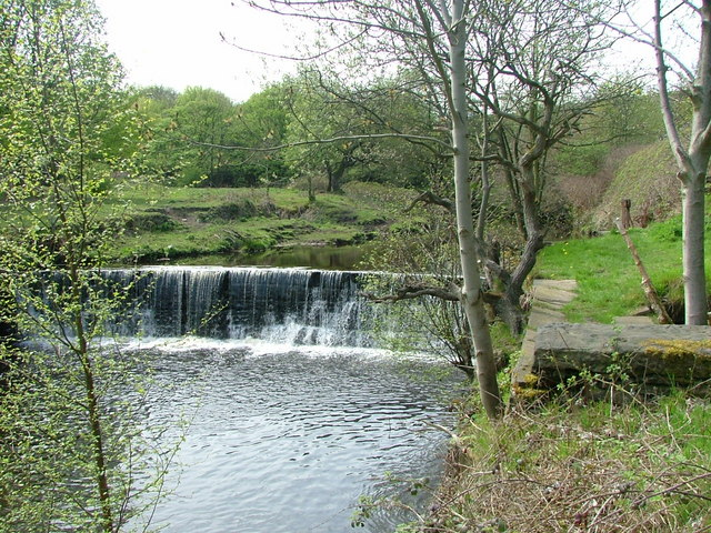 Weir on the Colne