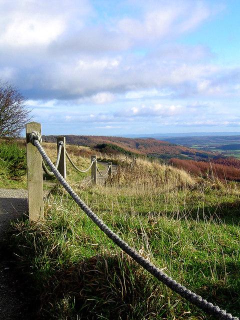 Views from the Kilburn White Horse