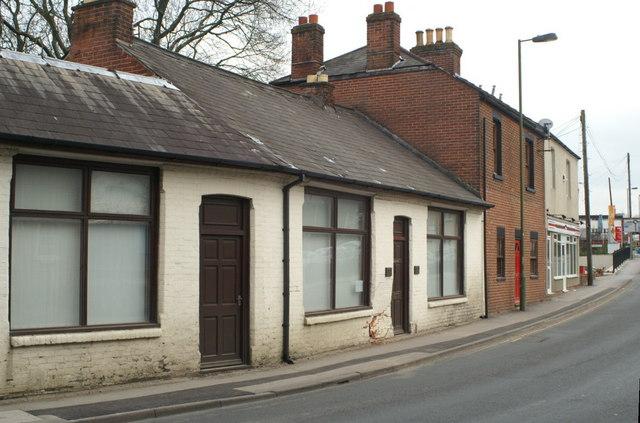 Victorian Buildings, Hursley Road